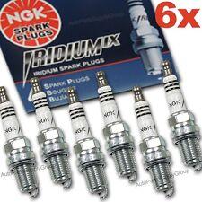 6 Genuine NGK Iridium IX Spark Plugs Set LTR6IX11 6509 Power, Mileage JAPAN New