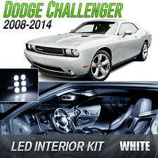 2008-2014 Dodge Challenger White LED Lights Interior Kit