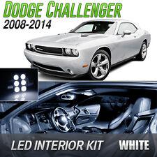 2008-2014 Dodge Challenger White LED Lights Interior Kit