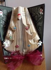 Christmas Tree Folded Book Art Folding PATTERN ONLY #035