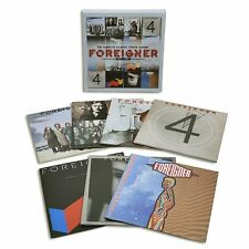 FOREIGNER -THE COMPLETE ATLANTIC STUDIO ALBUMS 1977-1991 BOX7 CD NUOVO
