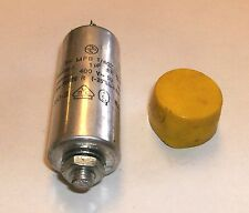 Vintage MFB 1/402 Motor Run Capacitor 1 uf 400 V 50 Hz Germany