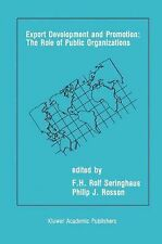 Export Development and Promotion: the Role of Public Organizations (2012,...
