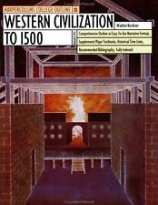 Western Civilization to 1500 (HarperCollins College Outline)