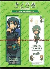 Kino's Journey clear bookmark set Kino no Tabi Travels official パクリセラアニメディアjpn頭悪
