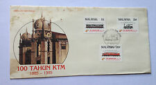Malaysia 1885-1985 100 Tahun KTM First day cover