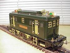 Lionel-MTH 9E Std Ga ELECTRIC LOCO 0-4-0 Brass Trim Runs Lights VG+Deal!
