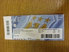 09/04/2016 Ticket: Manchester City v West Bromwich Albion  . Thanks for viewing