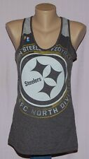 Womens Pittsburgh Steelers Play Time Racerback Tank Top T-Shirt XL