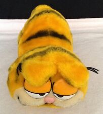 "Vintage 1981 Garfield Plush Stuffed Animal Toy R Dakin Walking Garfield 11"" Long"