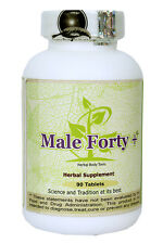Male Forty+ (Tonic to Support Testosterone) 90 Tablets, 800 Mg Each