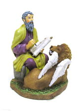 Statue St. Mark Evang 3.5 inch Painted Resin Saint in a Box Card Patron Catholic