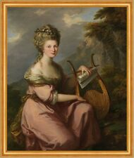 Portrait of Sarah Harrop, Mrs. Bates, as a Muse Kauffmann B A2 00508