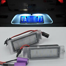 2x LED LICENSE PLATE LIGHT For Cadillac XTS 2010-2014 CTS Wagon SRX Buick Encore