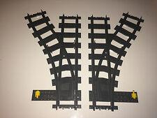 LEGO TRAIN 7895 - SWITCH POINTS LEFT & RIGHT FOR LEGO RC
