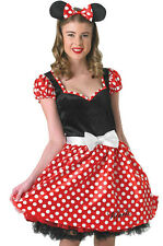 DISNEY Sassy Minnie Mouse Donna Costume Adulto piccole orecchie Rubies