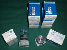 8x IDEC-APW199C TK392 14Y24R R4Y-White-Pilot-Light Kontrol Leuchte Weiss lot of8