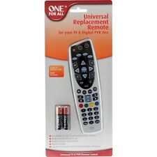ONE FOR ALL UNIVERSIAL REMOTE CONTROL FOR TV & FOXTEL IQ & IQ2 BOX
