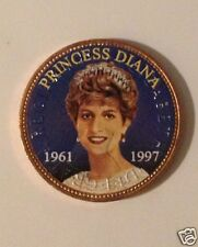 Princess Diana Colorized British large Penny  #1275