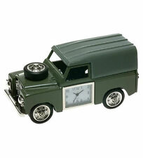 NEW GREEN LAND ROVER JEEP MINI DESKTOP CLOCK (GREAT MEN'S GIFT) LANDROVER CAR