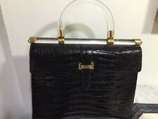 Ladies Exquisite All Alligator Gucci Handbag