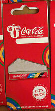 LONDON 2012 OLYMPICS COCA COLA BASKETBALL ARENA STADIUM PIN RIO