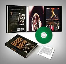 HANOI ROCKS - All Those Wasted Years Book Ari Vantanen Monroe/McCoy Bonus 7 inch