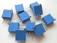 10 pcs 100 Ω ohm Mark 101 High Precision 3296 Variable Resistors RoHS