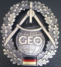 ✚0497✚ German Bundeswehr beret cap badge MILITARY TOPOGRAPHER Topographie
