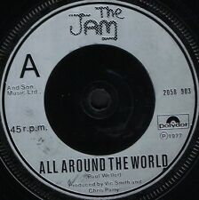 "THE JAM all around the world/carnaby street 2058 903 uk polydor 1977 7"" WS EX/"