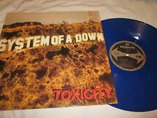 System Of A Down Toxicity Blue Coloured Vinyl RP LP New