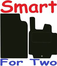 Smart For Two BRABUS DELUXE QUALITY Tailored mats 2007 2008 2009 2010 2011 2012