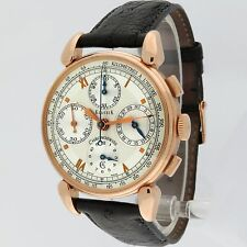 Chronoswiss 18K Pink Gold Klassik Automatic Chronograph CH7441 37mm Box/Paper