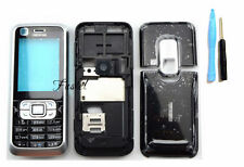 Bezel housing cover case keypad For Nokia 6120c 6120 classic replacement black