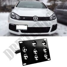 VW Volkswagen Golf MK6 10-14 JDM Euro Style License Plate Mount Kit / Tow Hook