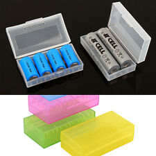1X 18650 CR123A 16340 Hard Plastic Battery Case Box Holder Storage Hot Sell