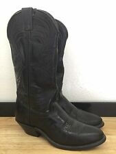 Women's Black LAREDO Cowboy Boots/ Size 6.5M/ Fair Condition/ Some Normal Wear