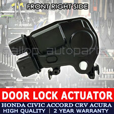 Honda Door Lock Actuator fit Odyssey Accord Civic CR-V Element Acura Front Right