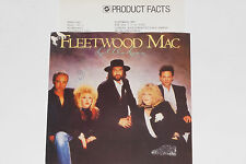 "FLEETWOOD MAC -Little Lies / Ricky- 7"" 45 mit Product Facts Promo-Flyer"