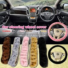 Auto Part Winter Car Soft Plush Steering Wheel Cover Car Accessories