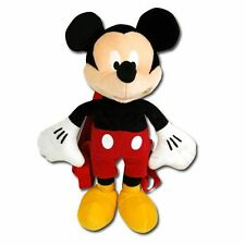 "DISNEY Mickey Mouse Full Body 16"" Backpack Travel Buddy Plush Bag NWT"