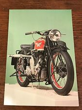 1939 500cc Matchless Model 39/G80 National Motorcycle Museum Postcard