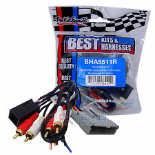 BHA5511R Aftermarket Radio Replacement Amp Integration Harness for Ford Open