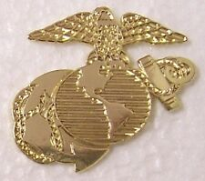 Hat Lapel Push Tie Tac Pin USMC Marine Corps Globe and Anchor NEW