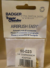 """Badger 1/4"""" Compressor Adaptor #50-023 Ships FREE in the US"""