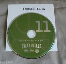 NEW Smallville Season 2 Disc 5 Replacement DVD (Disc 11), free shipping!