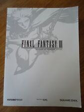 GUIDE OFFICIEL *** FINAL FANTASY III 3 ** FUTUREPRESS COMPLET RPG NINTENDO DS FR