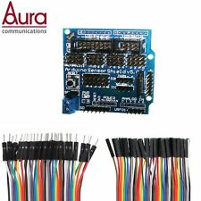 Sensor shield V5 for Arduino compatible I2C bt SD+JUMPER CABLES