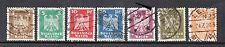 VG297 GERMANY #351-362 USED SET OF STAMPS, MOST CDS CANCELS