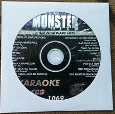 MALE 1980'S NEW WAVE HITS KARAOKE CDG  MONSTER HITS CD+G MH1069 - THOMAS DOLBY
